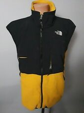 Vintage The North Face Yellow Fleece Vest Jacket Mens Size XL
