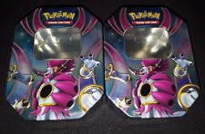 Pokemon Hoopa EX - EMPTY TIN BOX for CARD STORAGE / HOLD CARDS - 2 Tins!
