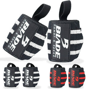 Blade Weight Lifting Straps Heavy Duty Gym Wrist Wraps Workout Brace Support