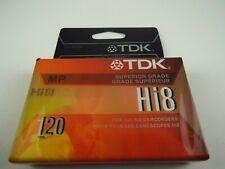 Tdk Hi8 8mm Camcorder Videotape Premium Performance 120 min Superior Grade