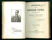 LOWE HUDSON MEMORIAL RELATIF CAPTIVITE NAPOLEON SAINTE-HELENE BIANCO 1831 2 VOLL