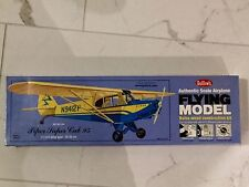 GUILLOW'S PIPER SUPER CUB 95 FLYING BALSA WOOD MODEL AIRPLANE KIT# 303 F/S