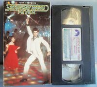 JOHM TRAVOLTA SATURDAY NIGHT FEVER  VHS TAPE COLLECTIBLE