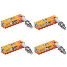 NGK CR8HSA Spark Plugs Pack of 4 fits SMC Ram 250 Quad ATV