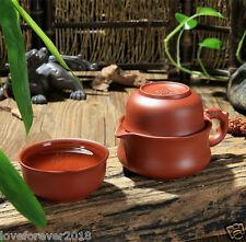 Tea pot+Two tea cups yixing zisha tea set in Chinese portable tea sets traveling