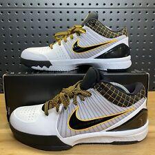 Nike Kobe Bryant IV 4 Protro Del Sol Zoom Black Yellow AV6339-101 Men's Size 8