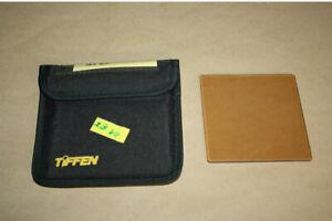 """TIFFEN 4"""" x 4"""" 81 EF Filter mit Schutztasche, gebraucht"""