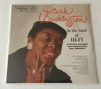 DINAH WASHINGTON ~ IN THE LAND OF HI-FI ~ UK VINYL LP REISSUE [STILL SEALED]
