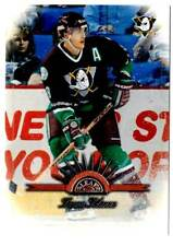 1997-98 Leaf TEEMU SELANNE (ex-mt)  #18 Anaheim Mighty Ducks