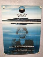 "Inuit Cultural Institute Poster ""We Honor The Land Because It Gives Us Life"""