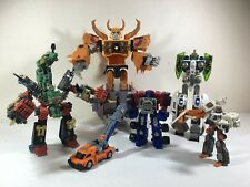Transformers Armada Energon Lot Unicron Optimus Scorponok Tidal Wave Hoist More