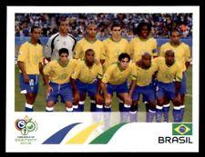 Panini World Cup 2006 - Team Photo Brasil No. 378