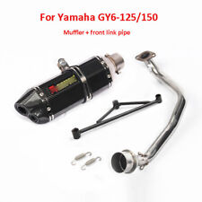 Motorcycle Exhaust System Muffler Pipe Front Connect Pipe For Yamaha GY6 125 150