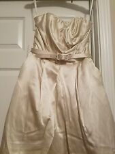 Cream Size 2 Wedding Dress