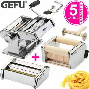 GEFU Pasta Perfetta Nudelmaschine Edelstahl weiß /& 2x Pasta Teig Nudel Trockner
