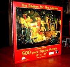 "Reason for the Season 18 ""X 24"" -500 Piece Jigsaw Puzzle by Greg Olsen Christmas"