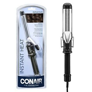Multi-layer Hair Instant Heat Adjusting Travel Curling Iron Wand Cool Tip Barrel