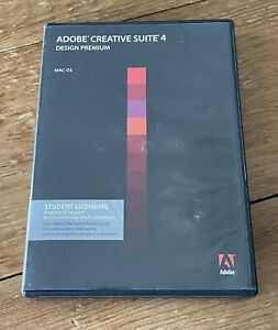 Adobe CS4 Creative Suite 4 for MAC OS - Student Licensing with Serial Number