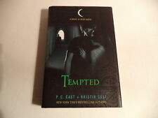 "HOUSE OF NIGHT Novel by P.C & Kristin Cast HARDBACK W/ DJ  ""TEMPTED""  FIRST ED."