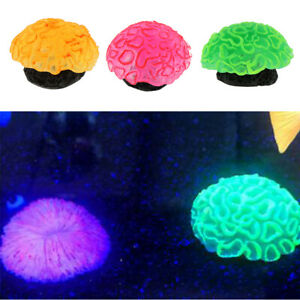 Artificial Coral Aquatic Under Water Plant for Aquarium Glow in the Dark