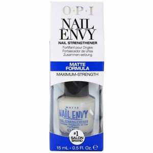OPI Nail Envy Nail Treatment - Matte Formula (Blue packaging) 0.5 oz/ 15 mL