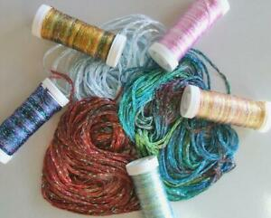 Painters Shimmer Threads Viscose Rayon Tentakulum Embellishment Choose Color