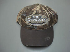 New Men's Duck Dynasty Camouflage Adjustable Worn Look Baseball Cap #96H