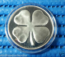 United States Apmex Four Leaf Clover 1 oz Silver Round with Box & Capsule