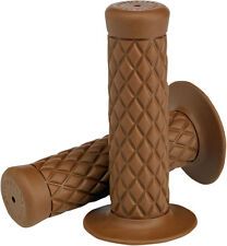 BILTWELL Thruster Grips for 7/8 inch Motorcycle Handlebars (Chocolate)