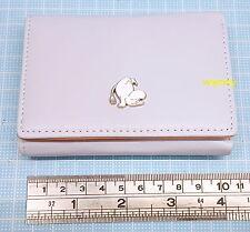 Moomin Characters Mini Wallet Light Purple Grey Color  , h#1