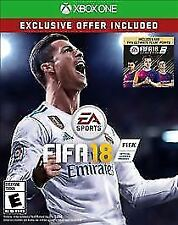 XBOX ONE FIFA 18 SOCCER BRAND NEW EXCLUSIVE OFFER INCLUDED 500 TEAM POINTS