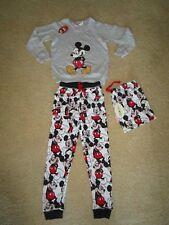 Peter Alexander Girls Disney Mickey Set Pyjamas Size 8