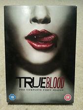 True Blood The Complete 1 First Series Season DVD 5 Disc Set VGC