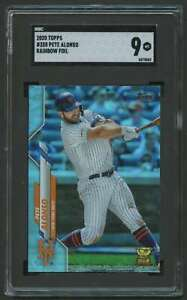 2020 TOPPS RAINBOW FOLD ROOKIE CUP PETE ALONSO SGC 9