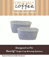 2 REPL Keurig B30 B31 B40 B50 B60 B70 K45 K65 K75 K10 Charcoal Water Filters