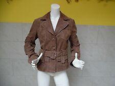 RINO & PELLE jolie veste 100% cuir taille 38