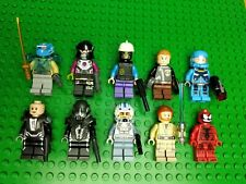 Lot of 10 Lego Mixed Minifigures - Star Wars, Marvel, Man of Steel, etc