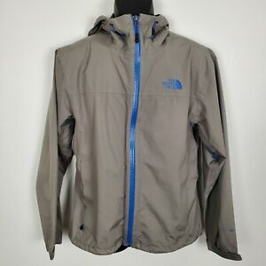 The North Face Men's Size Small HyVent Flashdry Waterproof Jacket Gray Shell