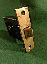Vtg Nice Restored Corbin Heavy Duty Antique Door Brass/Metal Passage Mortise