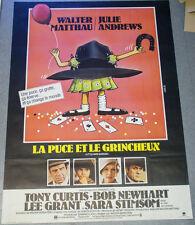 Affiche de cinéma : LA PUCE ET LE GRINCHEUX de Walter BERNSTEIN