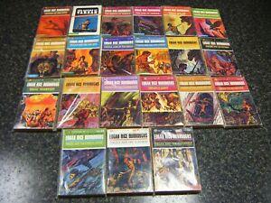 Edgar Rice Burroughs Lot of 21 Ballantine TARZAN books