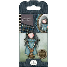 Gorjuss Mini Collectible Rubber Stamp #4 Forget Me Not