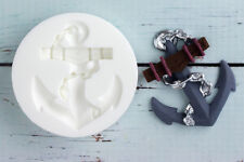 Silicone Mould, Ship's Anchor, Nautical, Food Grade Ellam Sugarcraft  M036