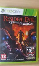 RESIDENT EVIL OPERATION RACCOON CITY BRILLIANT MICROSOFT XBOX 360 GAME COMPLETE