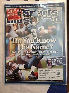 Sports Illustrated Back Issue December 19, 2005 Shaun Alexander Seattle Seahawks