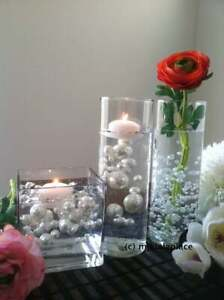 Water Gel Beads Transparent color For creating floating pearls centerpiece decor