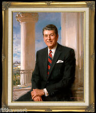Ronald Reagan Art Print Painting by Everett Raymond Kinstler