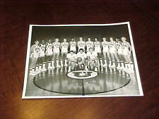 1976-77 University of Utah Utes Team Basketball Photo