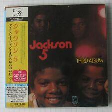 JACKSON 5-third album + 2 BONUS Japon SHM MINI LP CD OBI NOUVEAU! UICY - 94293