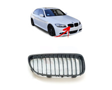 FOR BMW 3 SERIES E90 E91 2009 -2012 NEW FRONT KIDNEY GRILLE MATTE BLACK RIGHT